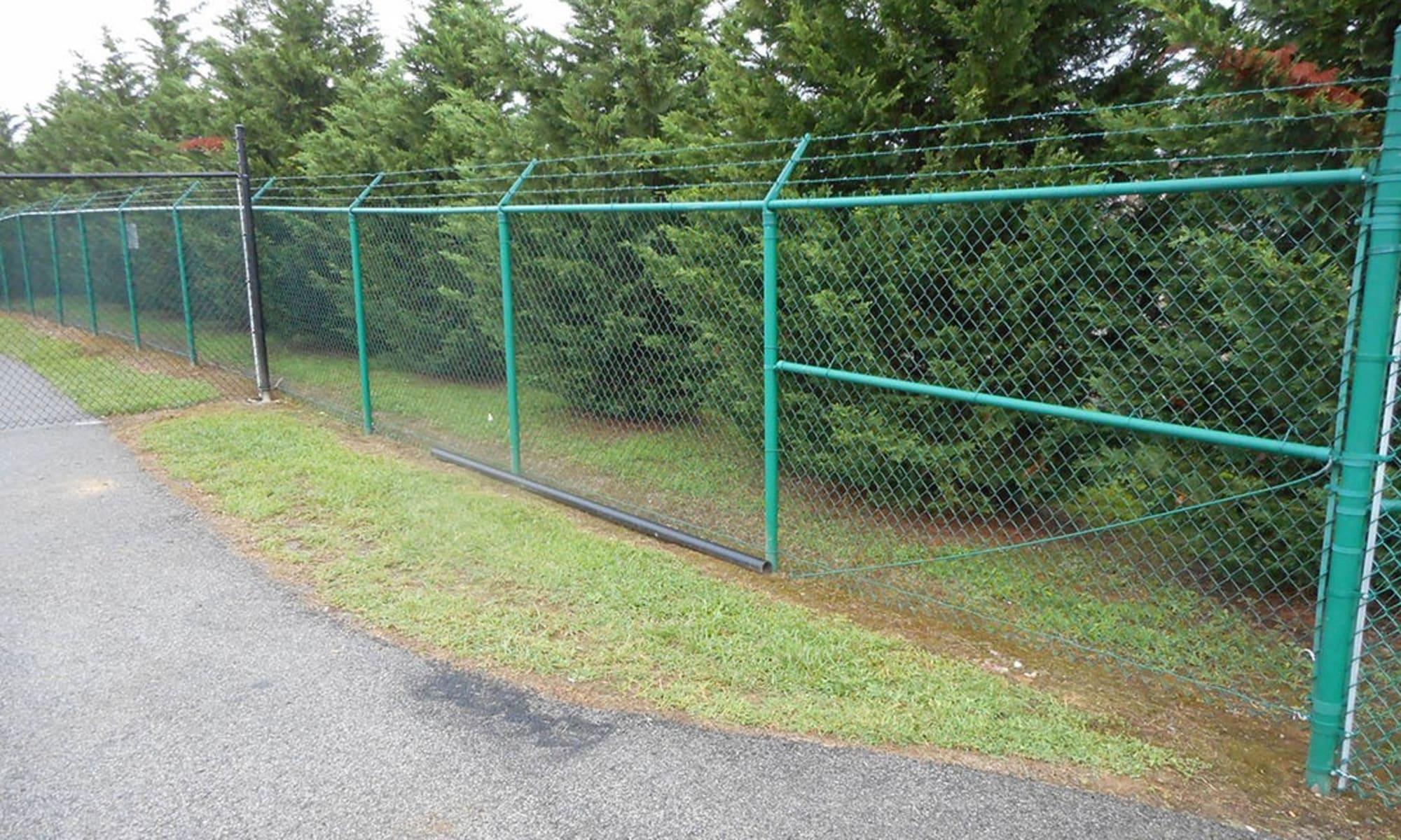 Virginia Varsity Storage is fully fenced