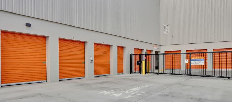Secure facilities in San Jose, California at A-1 Self Storage