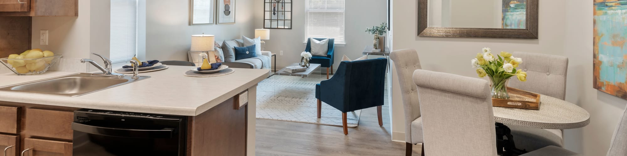 Virtual tour of The Apartments at Sharpe Square in Frederick, Maryland