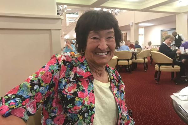 Christine Johnson at Sanford Estates Gracious Retirement Living in Roswell, Georgia