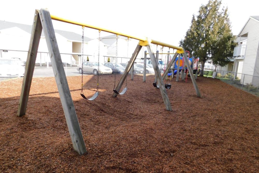 Playground at Millennium Park in Vancouver, Washington
