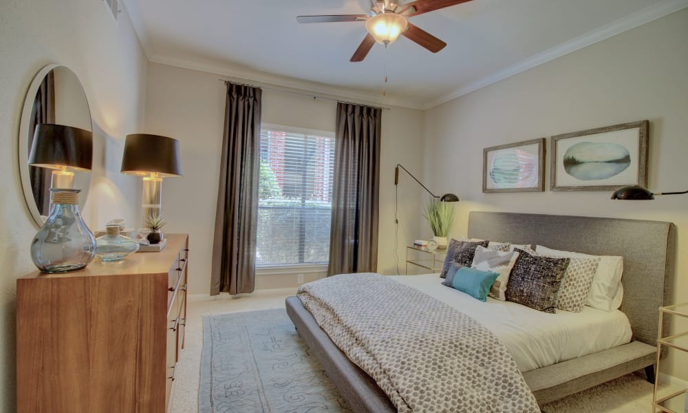 Bedroom at The Park at Research Forest in The Woodlands, Texas