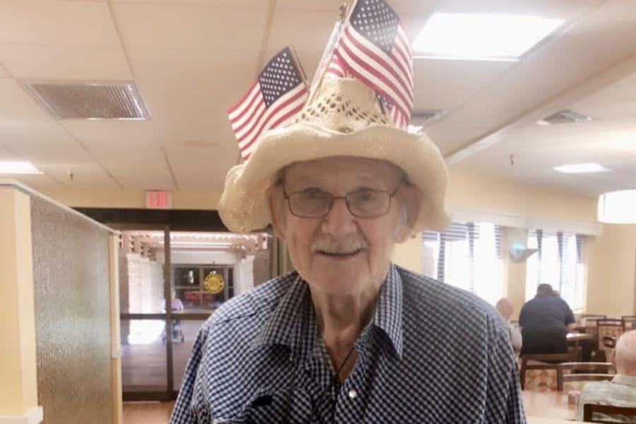 Flag Day at Casa Del Rio Senior Living in Peoria, Arizona