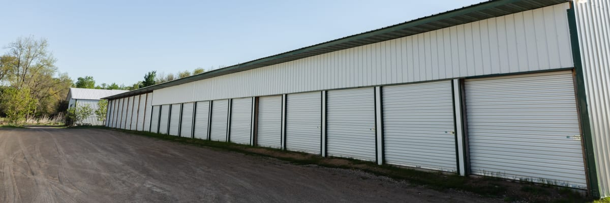 Boat and auto storage at KO Storage of Amery in Amery, Wisconsin