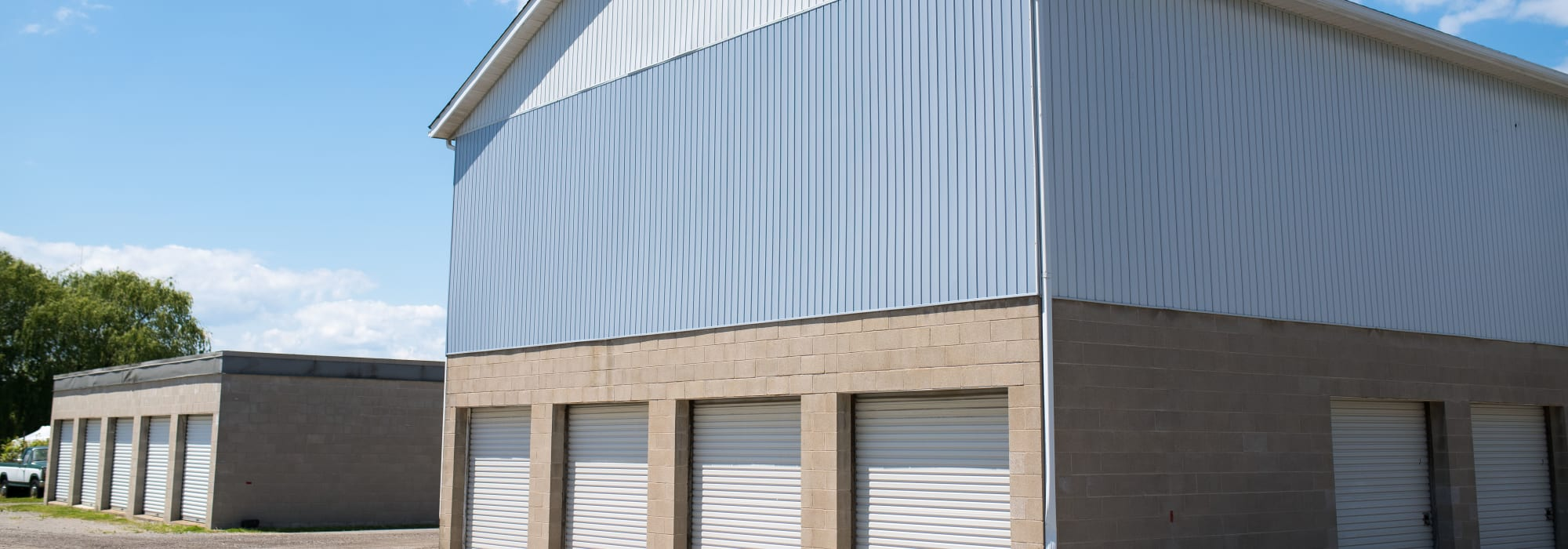 Storage units available at Apple Self Storage - St. Catharines in St. Catharines, Ontario