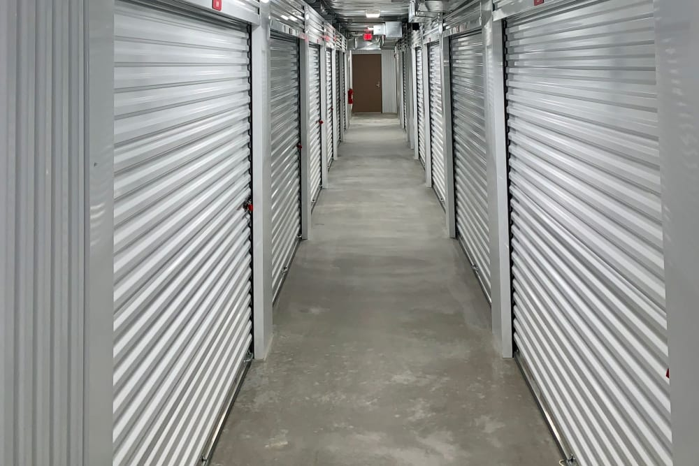 Inside storage at Storage Authority Monmouth Rd in Millstone Township, New Jersey.