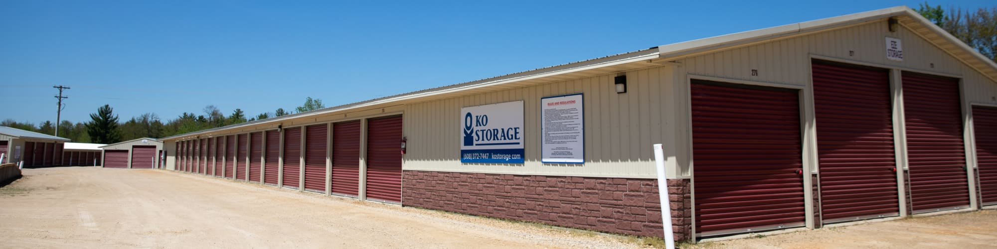 Self Storage in Tomah Wisconsin