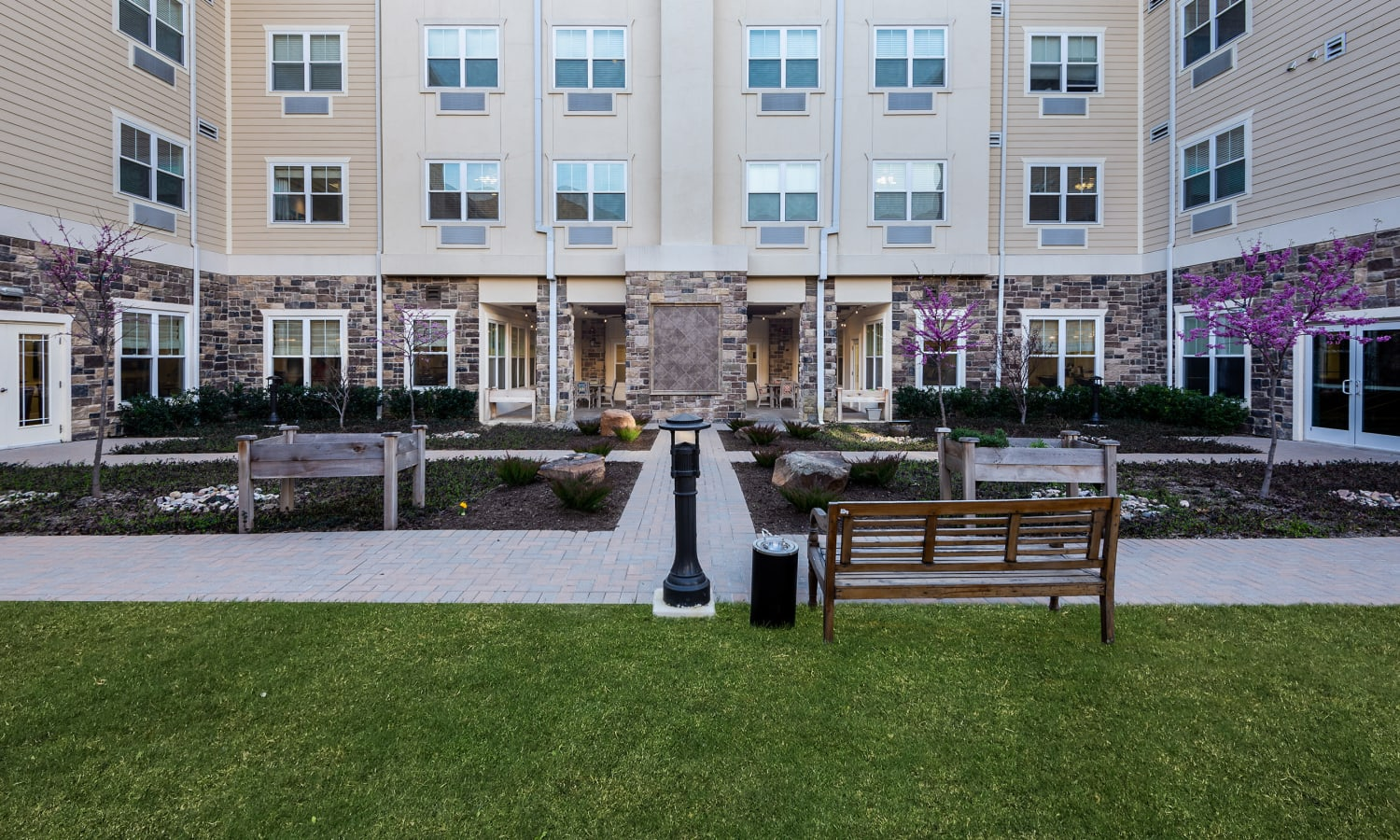 Courtyard at MacArthur Hills in Irving, Texas