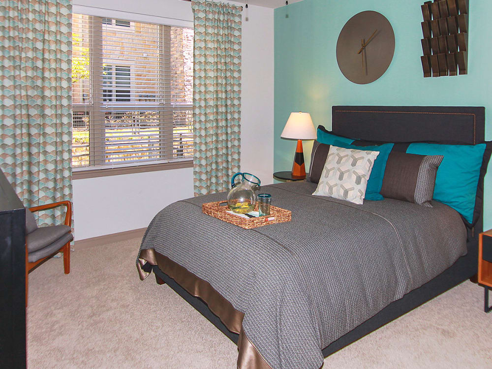 Model bedroom at Estates of Richardson