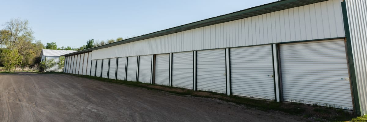 Unit size guide from KO Storage of Amery in Amery, Wisconsin