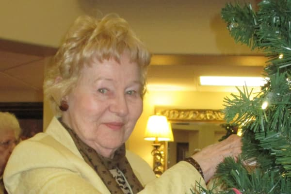 Martha Gomber at Sterling Heights Gracious Retirement Living in Bethlehem, Pennsylvania