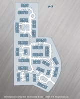 Printable floor plans at Aldingbrooke in West Bloomfield, Michigan