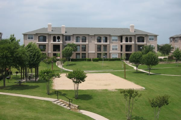 Outside view at Ballantyne Apartments