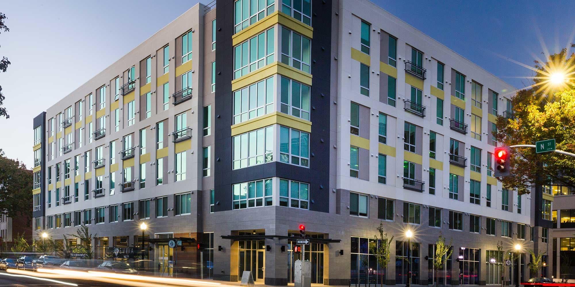 EVIVA Midtown apartments in Sacramento, California
