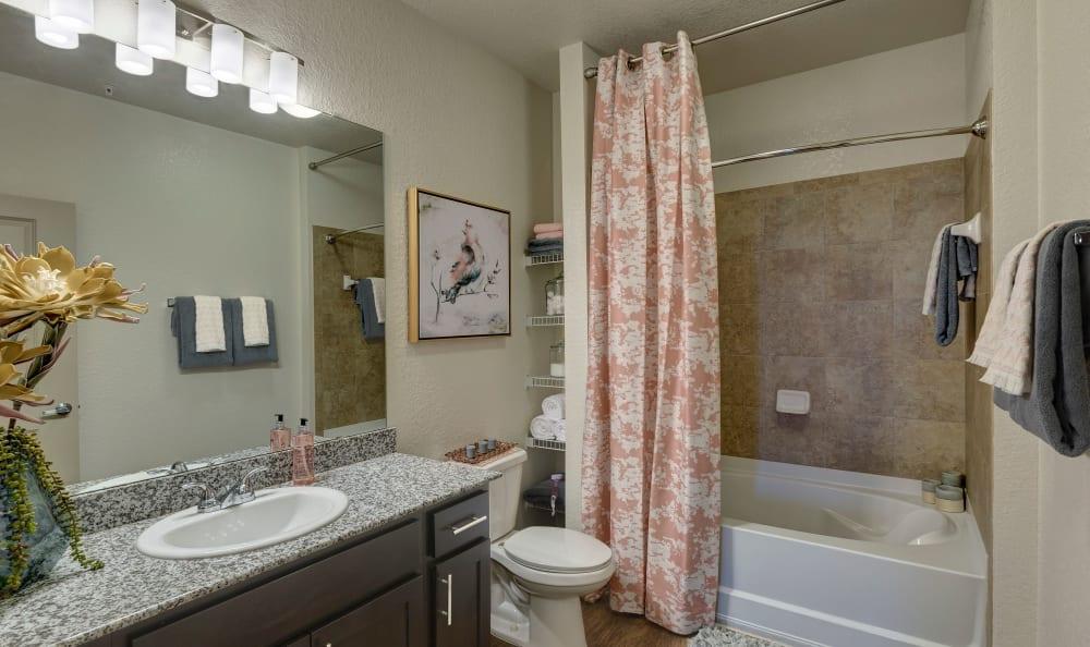 Bathroom at Sands Parc