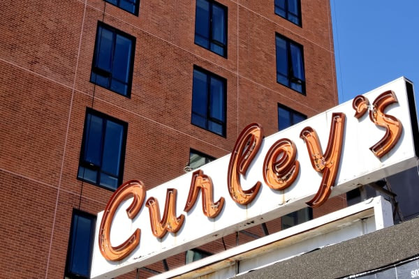 Curley's is nearby to Vela on the Park!