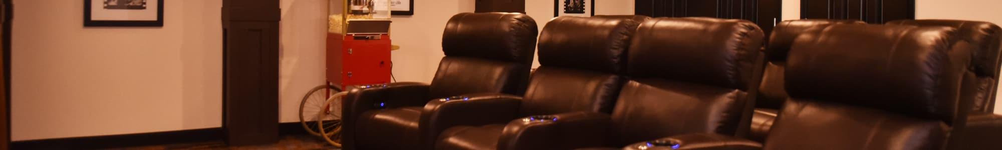 Movie theater at Pickerington in Pickerington, Ohio.