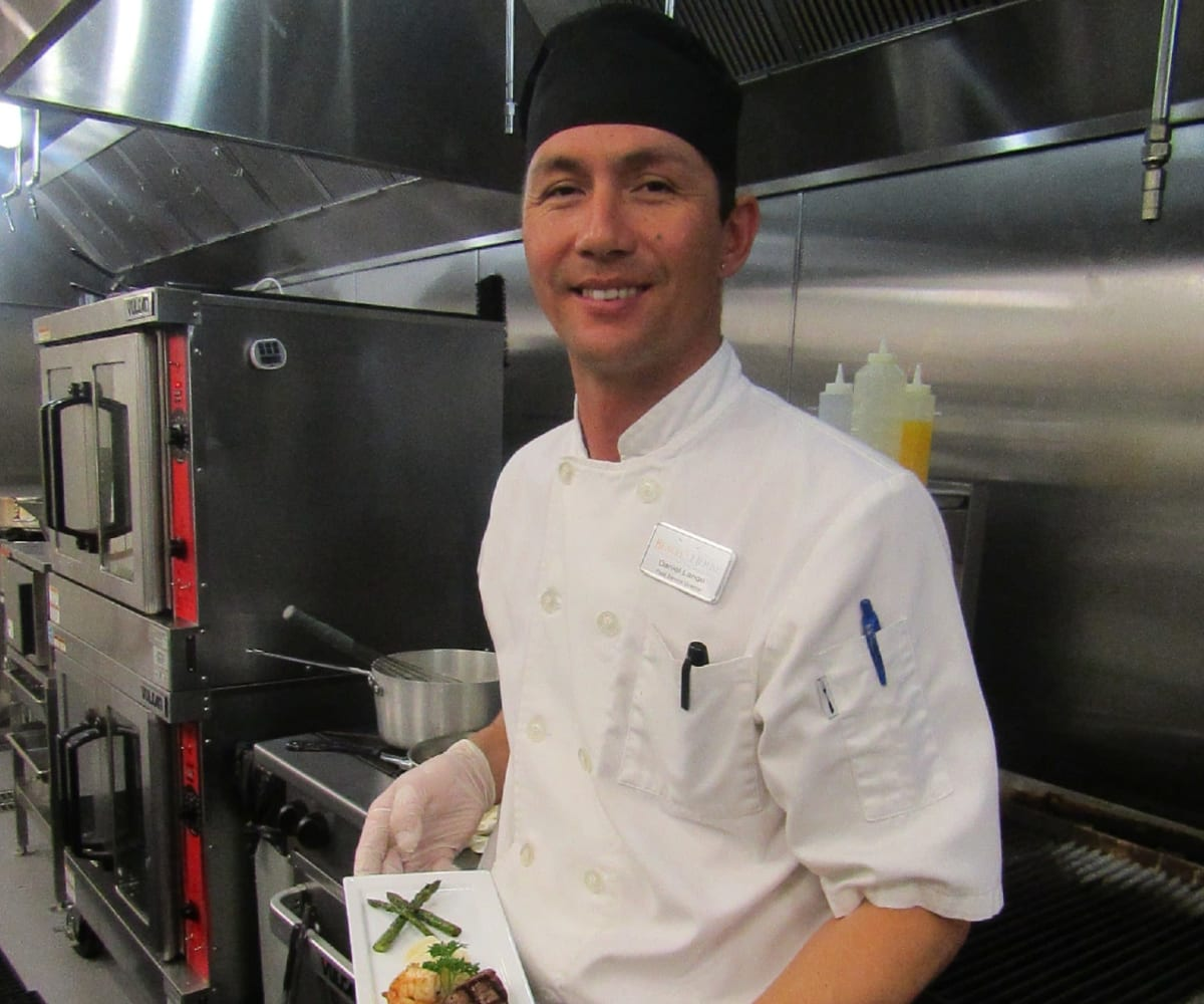 Executive chef at Beach House Assisted Living & Memory Care in Naples, Florida