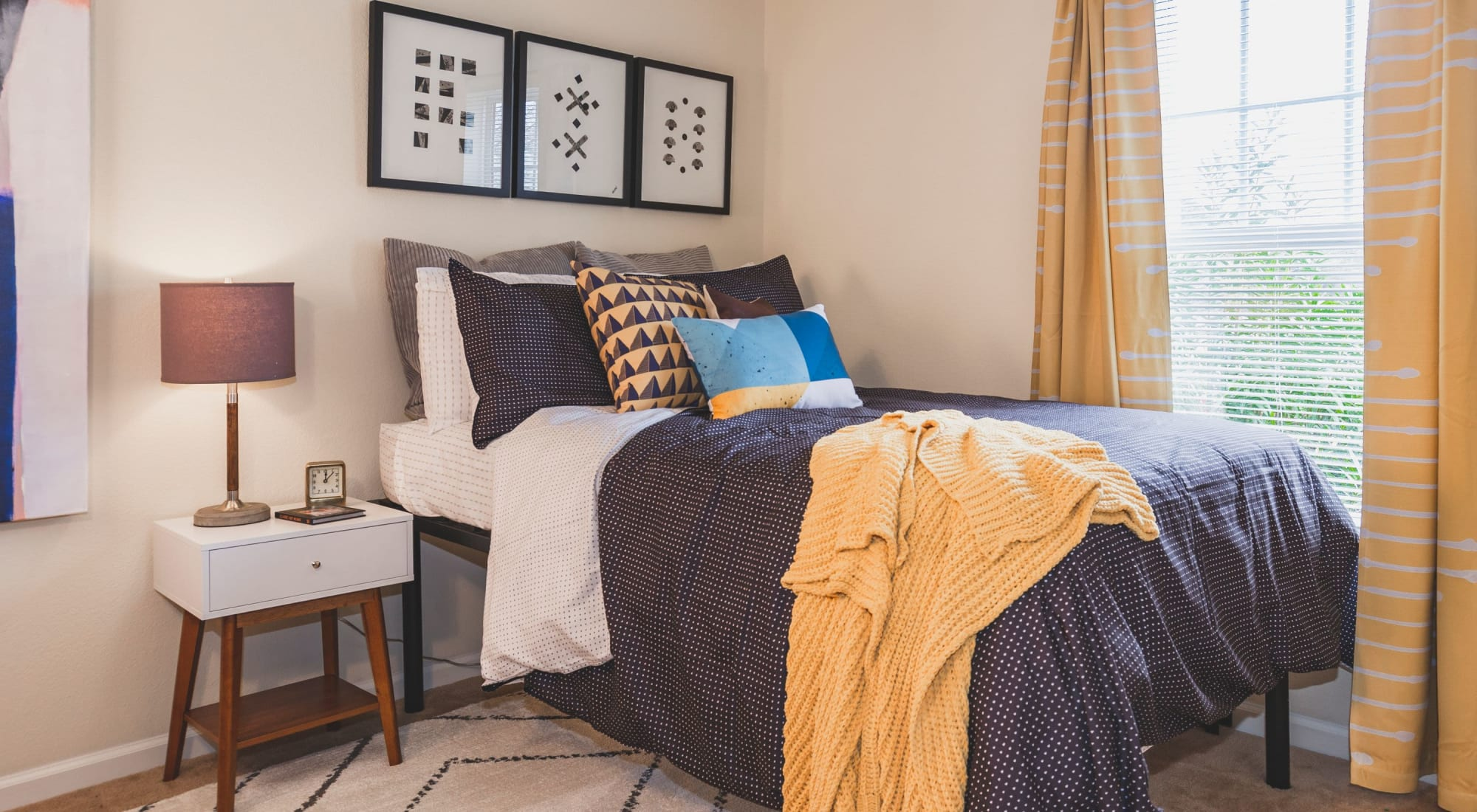 Bedroom at Sunchase Apartments