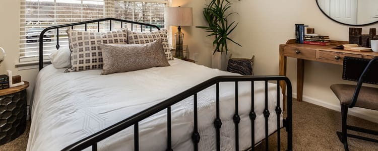 Beautiful bedroom at Village of Westover in Dover, Delaware