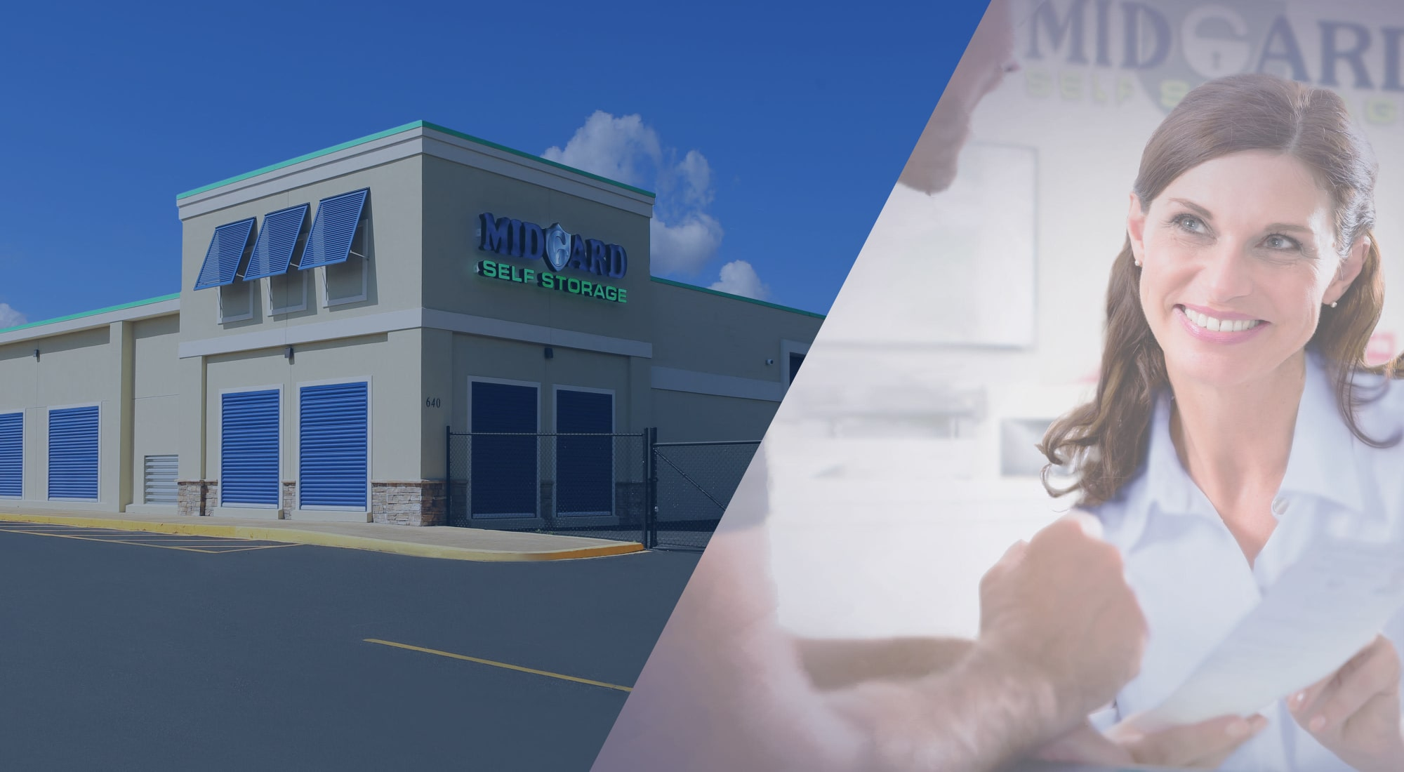 Self storage at Midgard Self Storage in Greenville, South Carolina
