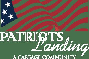 Patriots Landing Logo