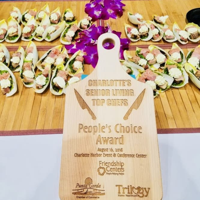 People's Choice Award for the chefs at Heritage Oaks Assisted Living and Memory Care in Englewood, Florida