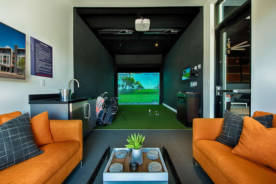 Indoor game room at The TOMSCOT in Scottsdale, Arizona
