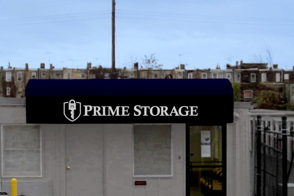 Office at Prime Storage in Philadelphia, Pennsylvania