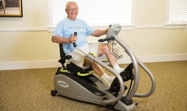Wellness: Physical program at Burr Ridge Senior Living