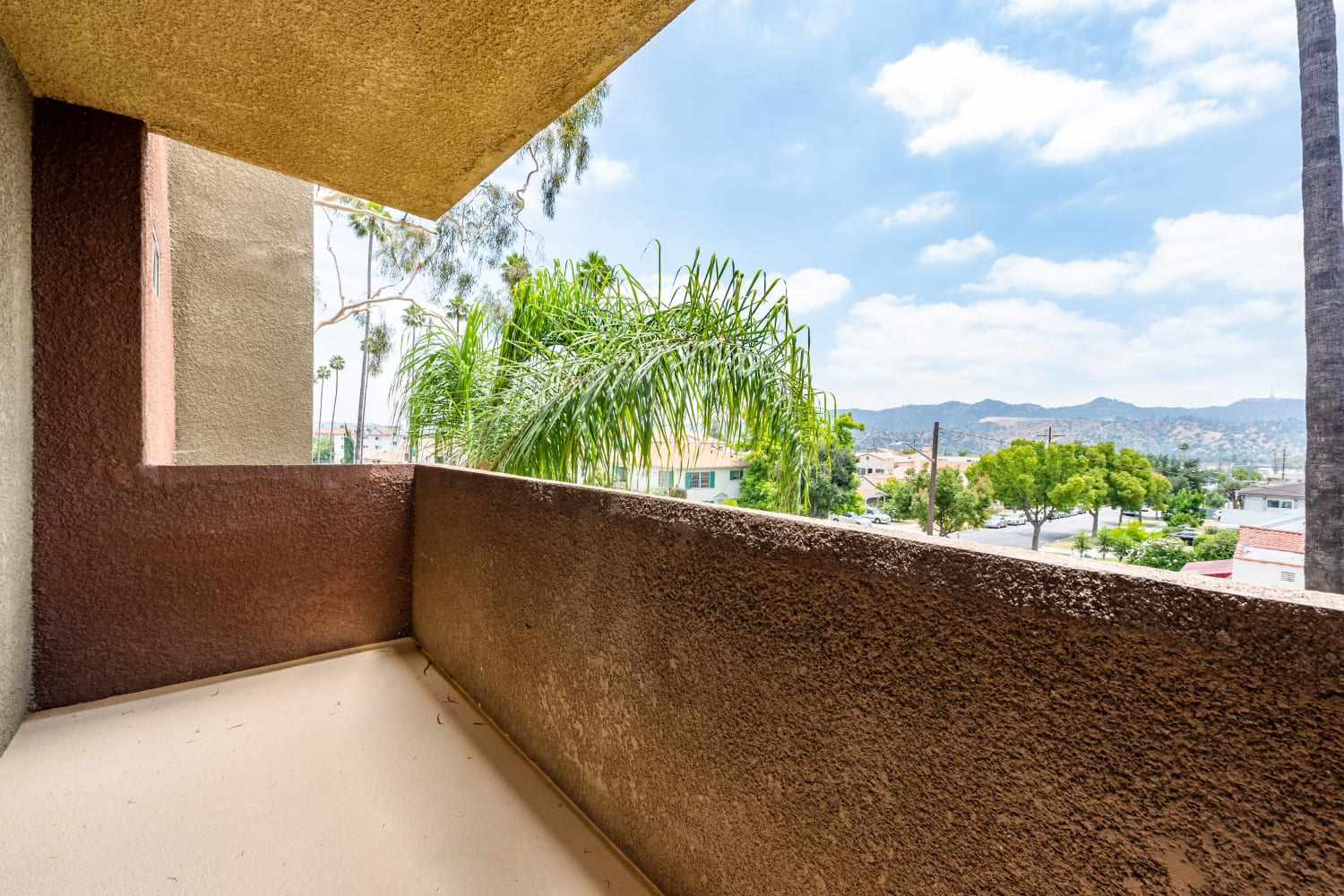Private Balcony at Apartments in Glendale, California