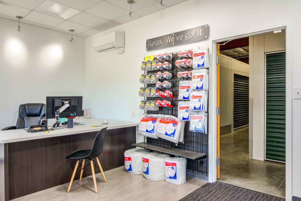 Packing supplies at Metro Self Storage in Montgomery, Alabama