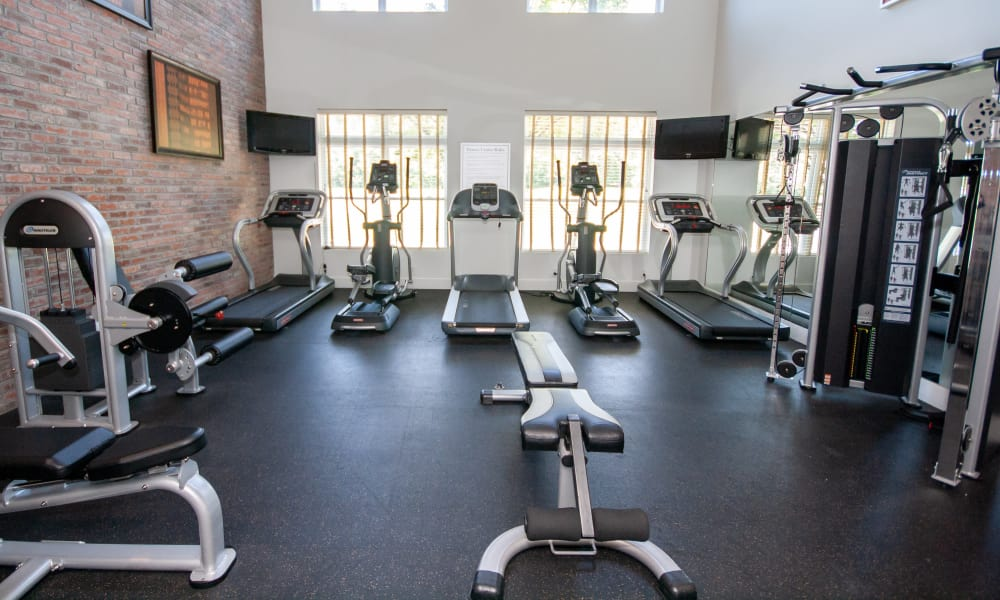 State-of-the-art fitness center at The Atlantic Aerotropolis in Hapeville, Georgia