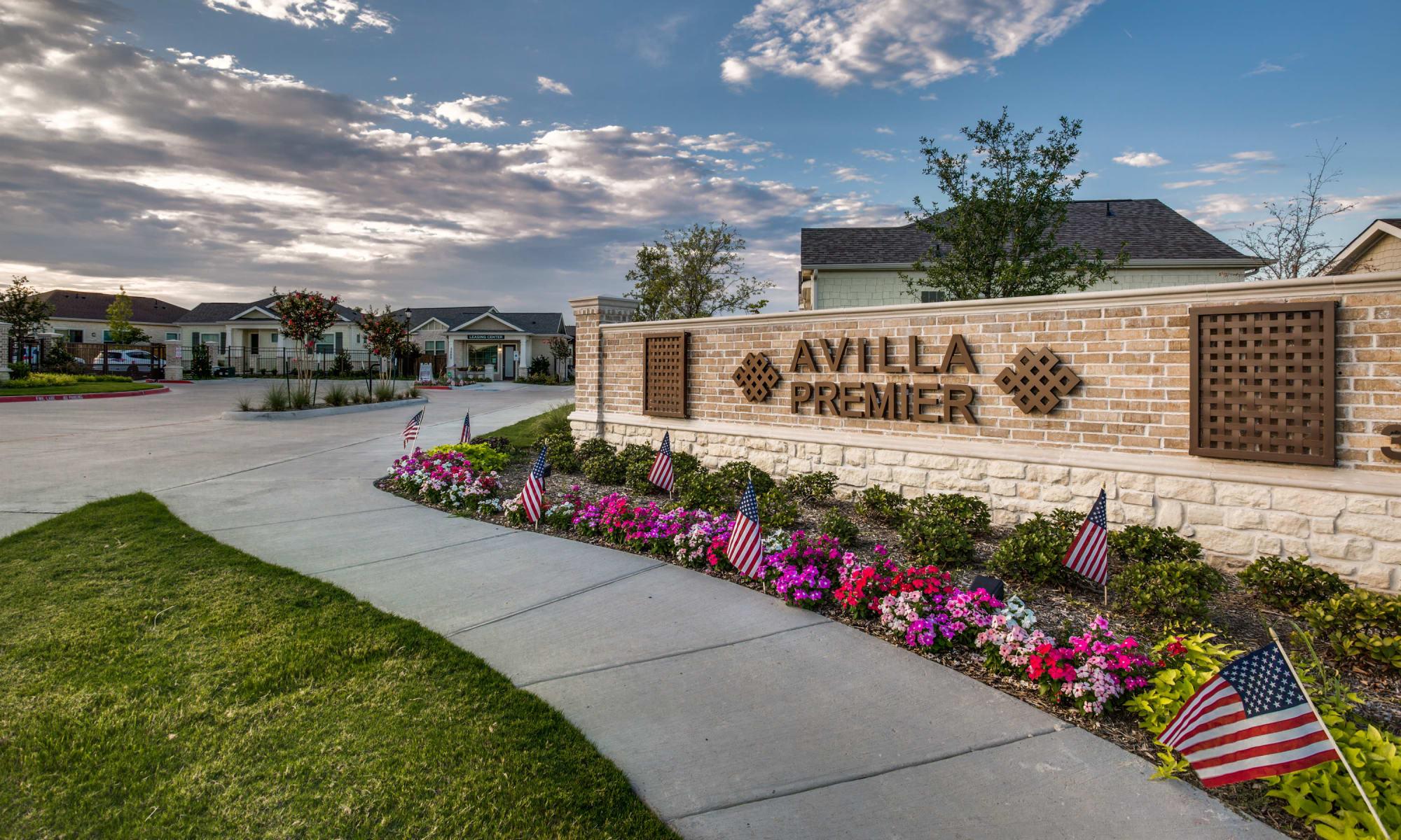 Avilla Premier apartments in Plano, Texas