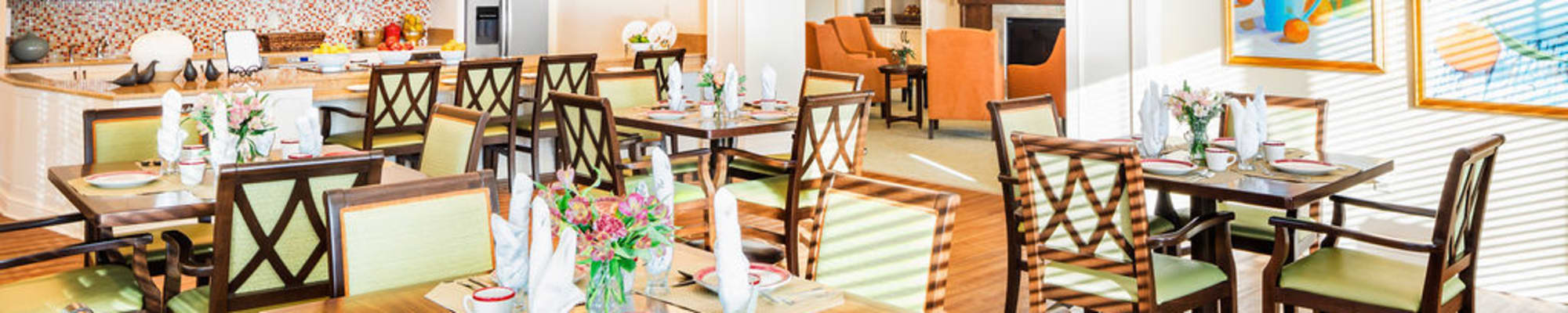 Dining options at Azpira at Windermere in Windermere, Florida