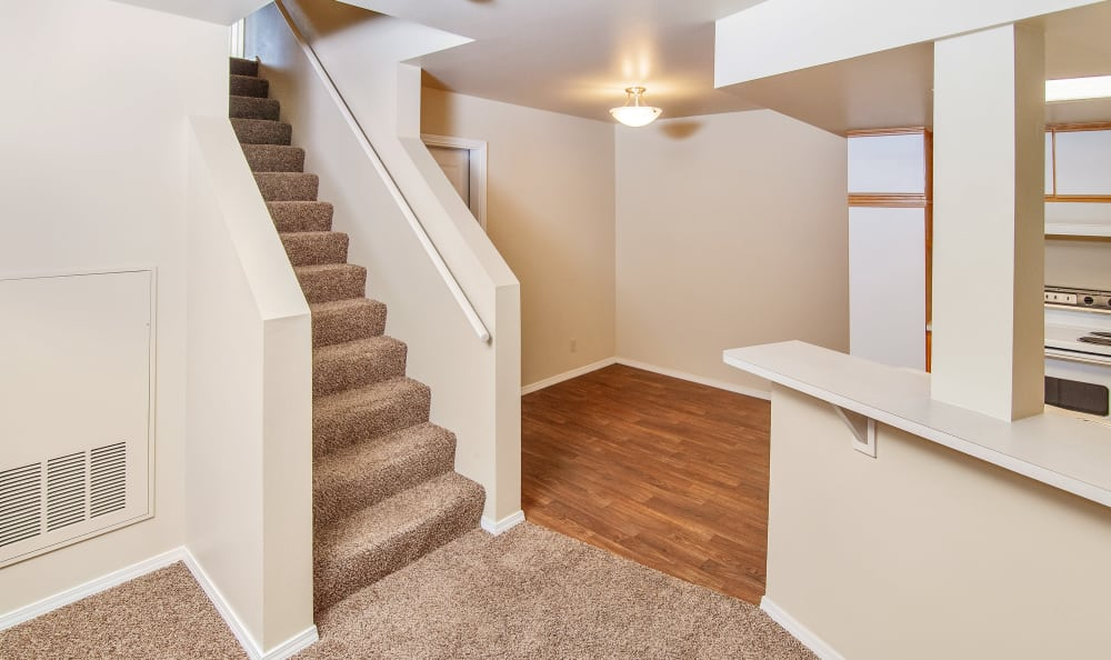 Spacious floor plans at the apartments for rent in Boise