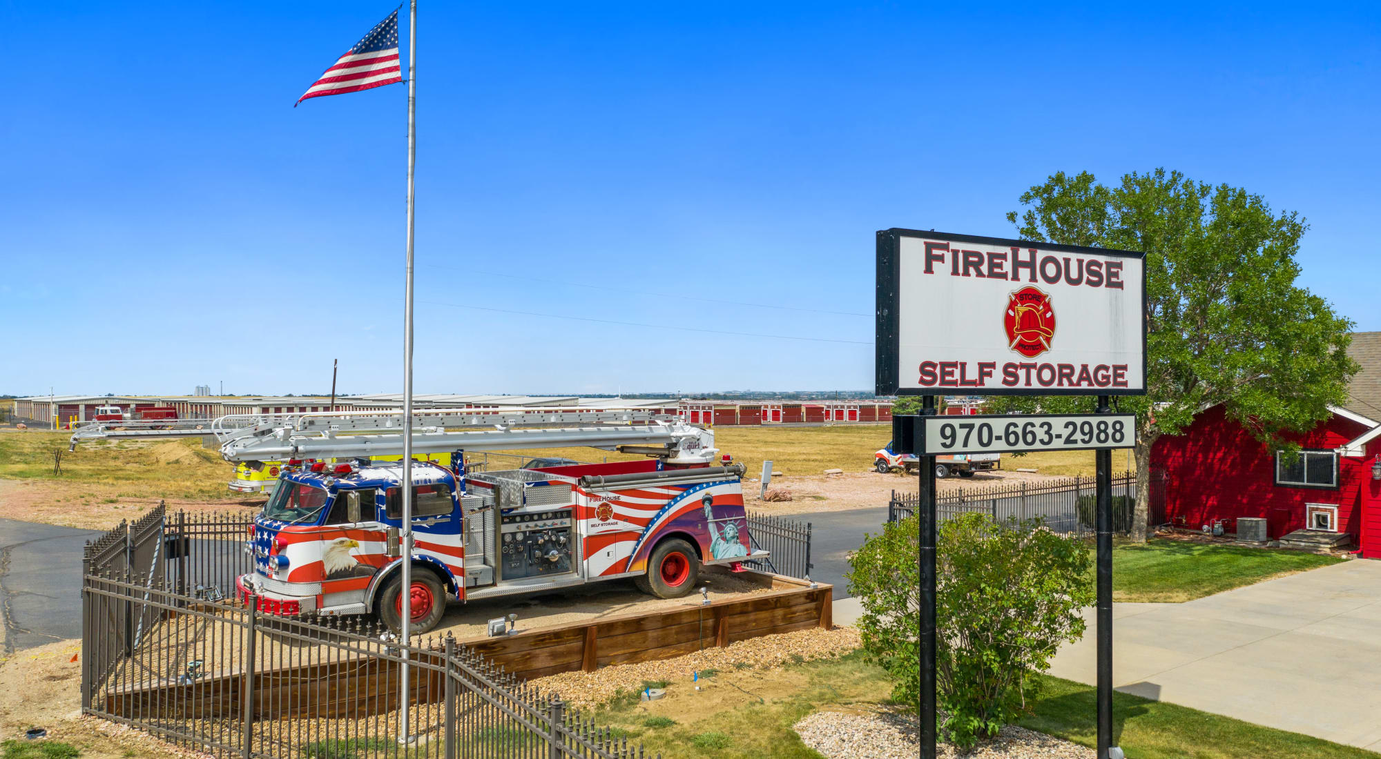 Firehouse Self Storage in Loveland, Colorado