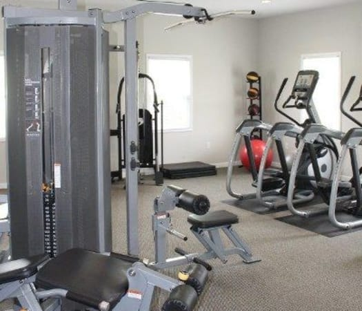 Fitness center at The Village of Laurel Ridge in Harrisburg, Pennsylvania