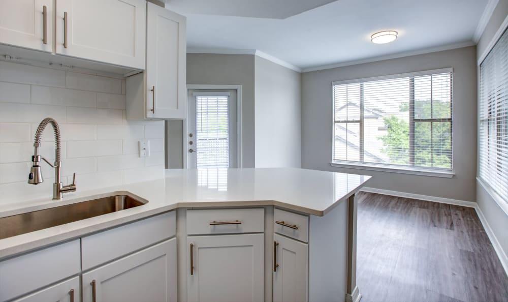Gorgeous kitchen at at Riata Austin in Austin, Texas