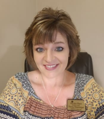Tracy Hasemeyer, Assistant Director/Life Enrichment Coordinator at Garden Place Red Bud in Red Bud, Illinois.