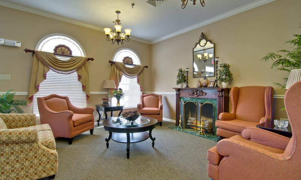 Activity room at Highland Crest Senior Living in Kirksville, Missouri