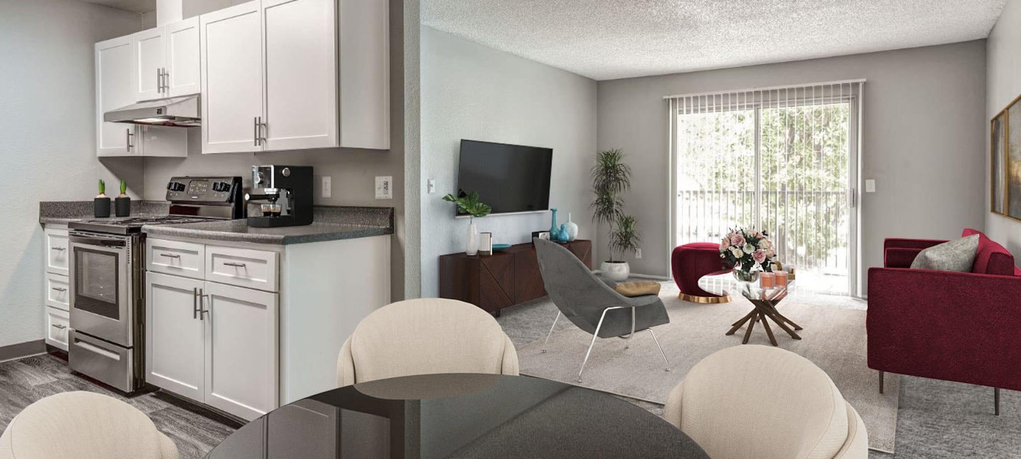 Sacramento, California apartments at The Woodlands Apartments