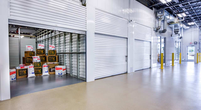 Climate controlled units at Metro Self Storage in Blaine, MN