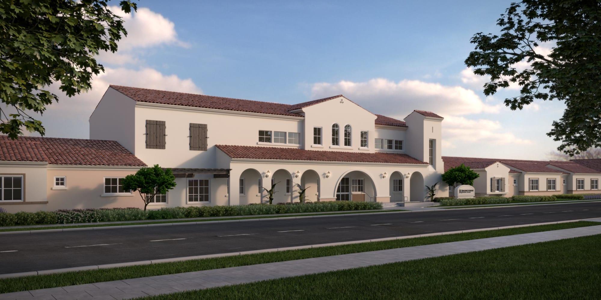 Senior living at Regency Palms Oxnard in Oxnard, California