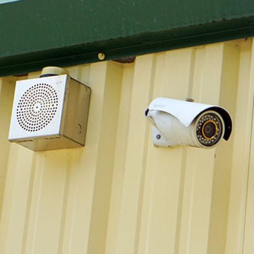 Security camera at Red Dot Storage in Pensacola, Florida