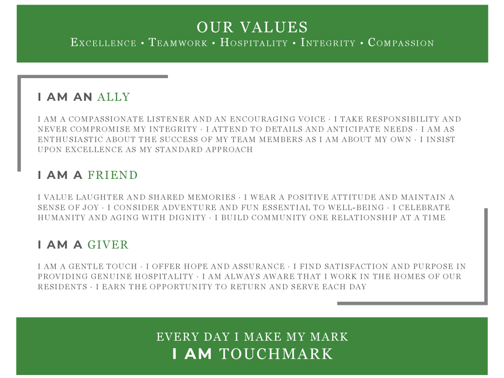 Touchmark Central Office in Beaverton, Oregon values