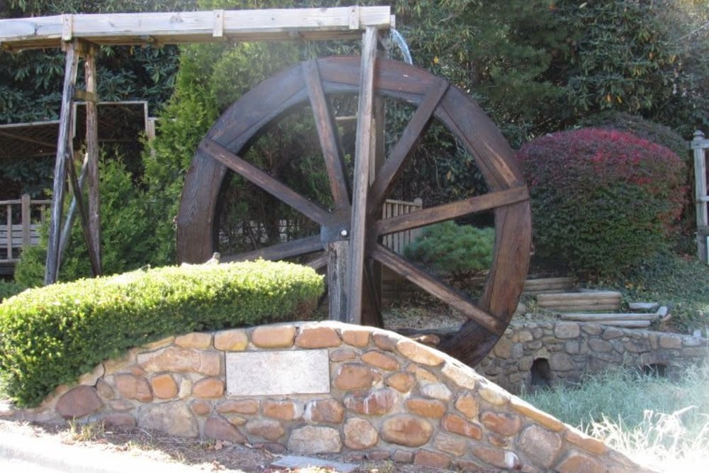 Watermill at Studio West in Boone, North Carolina