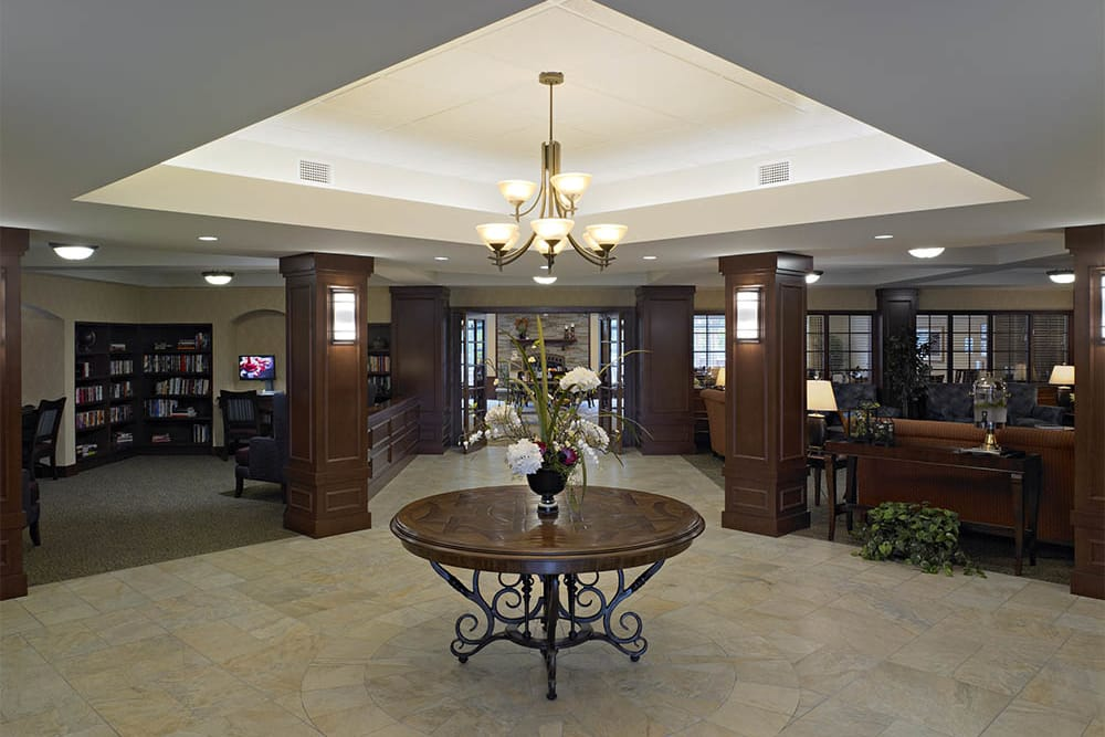 Central hall at Oak Hill Supportive Living Community