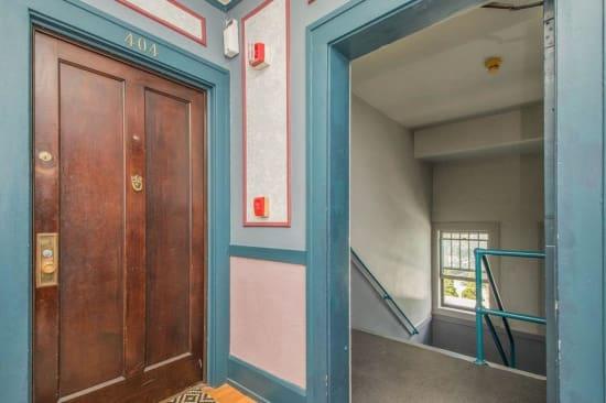 Hallway at Alta Casa in Des Moines, Iowa