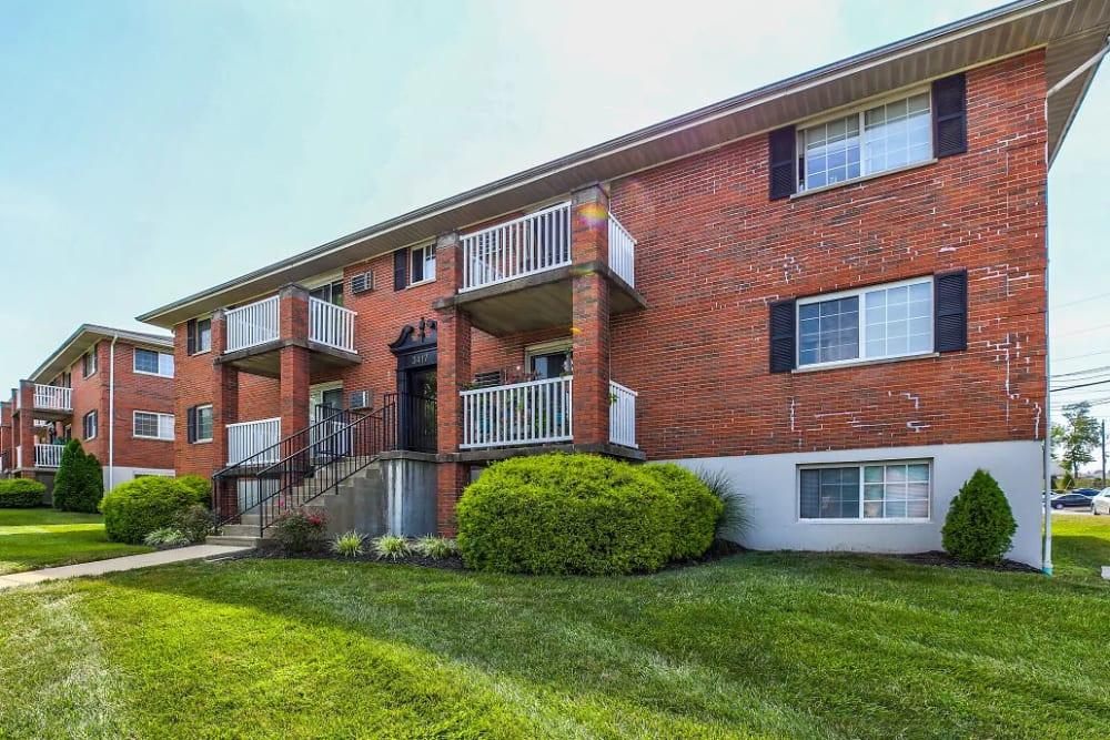 An apartment building in Erlanger, Kentucky